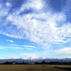 本年最後の晴天かも・・スマホ撮影で立山連峰