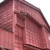 東茶屋ベンガラ塗の建物