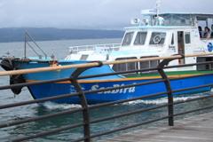 七尾湾の観光船