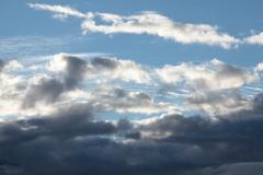 今朝の空・雲