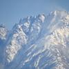 冷え込みが強かったですが見事な晴天の中の立山連峰剱岳