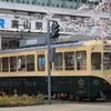 レトロな富山地方鉄道路面電車