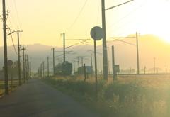 まぶしい朝・・あいの風がやって来た ^^