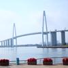 ある日の新湊大橋