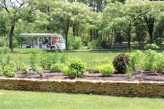 空いている園内周遊バス