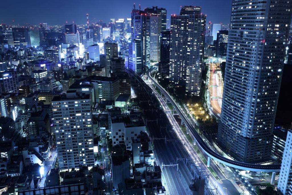 大都会、東京 part1 by yuuya700...