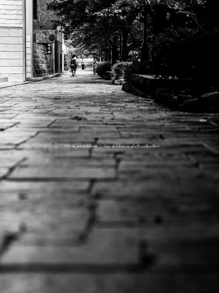 城脇の生活道路