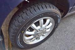 RIMG0161 スタッドレスタイヤに交換その1