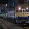 夜のタンカー列車