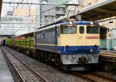 EF65原色貨物列車