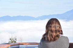 雲海のおねえさん♪