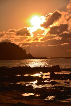 北陸夕陽三昧♪