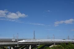 秋晴れ新幹線♪