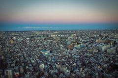 夕焼けの街