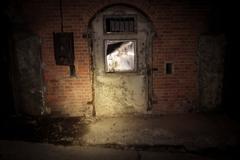 3分間トンネル 弾薬庫の扉