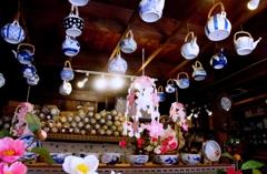 恵比寿屋陶器店#2 天井の急須