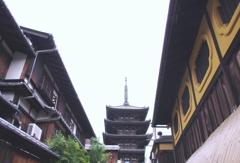 祇園のシンボル @八坂の塔