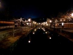 宵(酔い)の倉敷美観地区