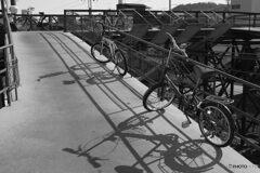 坂道、自転車
