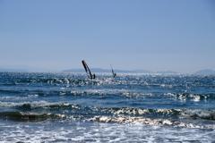 ウインドサーフィン。
