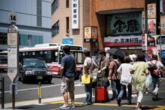日本の日常 急ぐ