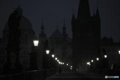 In Czech チェコの日常 夜明け前のカレル橋