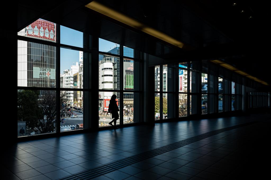 日本の日常 一人渋谷で