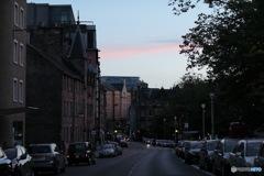 In Scotland エディンバラ