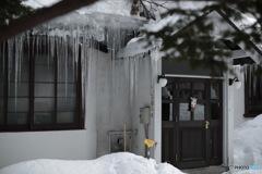 日本の日常 氷柱
