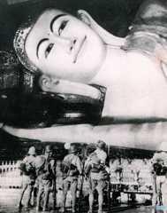 In Myanmar シュエターリャウン涅槃像(1942年)