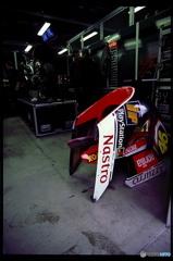 1997_WGP 日本GP Valentino Rossi Pit Garage