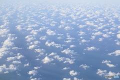 日本の日常 雲の上から
