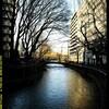 前橋の街中を流れる広瀬川