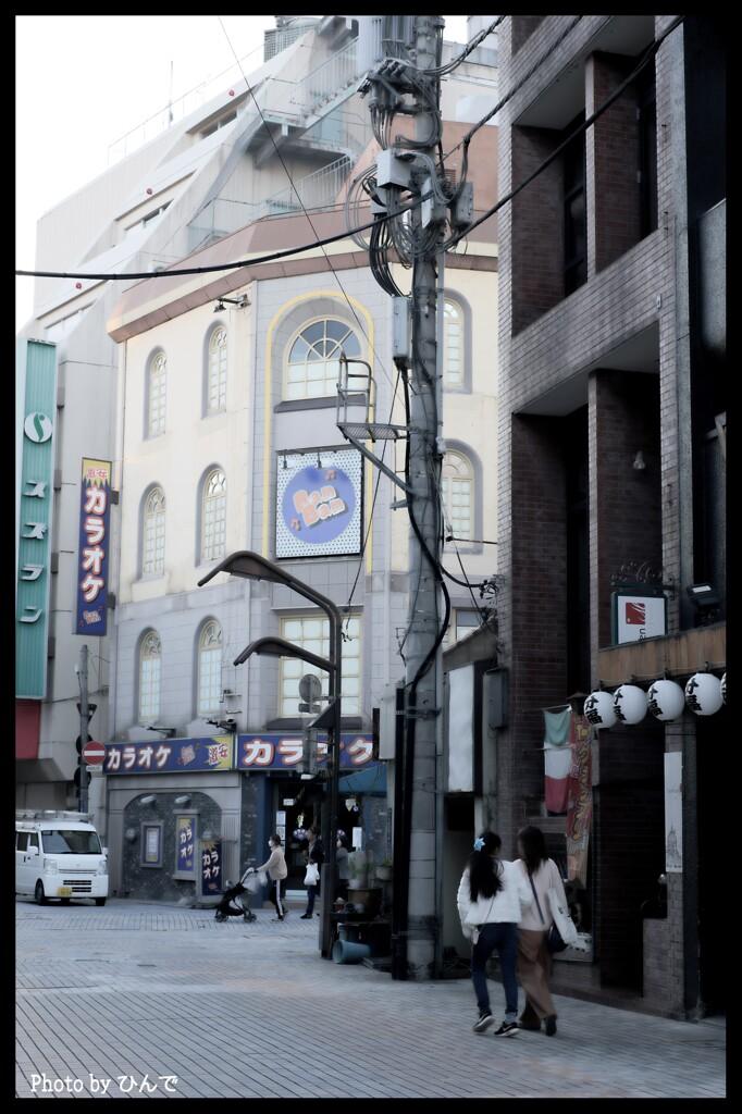 新春の前橋繁華街①