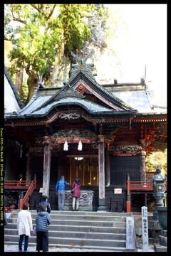秋の榛名神社にて⑧