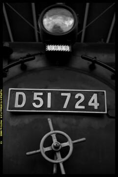 栄光の蒸気機関車D51724②
