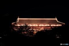暗闇に浮かび上がる前橋臨江閣③