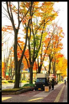 前橋駅前散策と紅葉と②