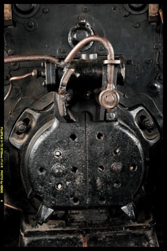 栄光の蒸気機関車D51724⑥