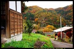 秋の六合村赤岩集落にて㉗