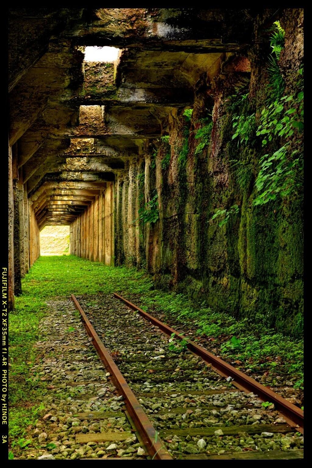 想い出の過去につながる鉄路③