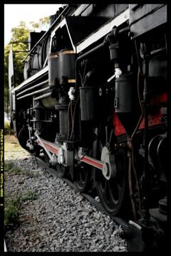 栄光の蒸気機関車D51724⑧