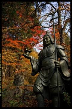 秋の榛名神社にて⑳