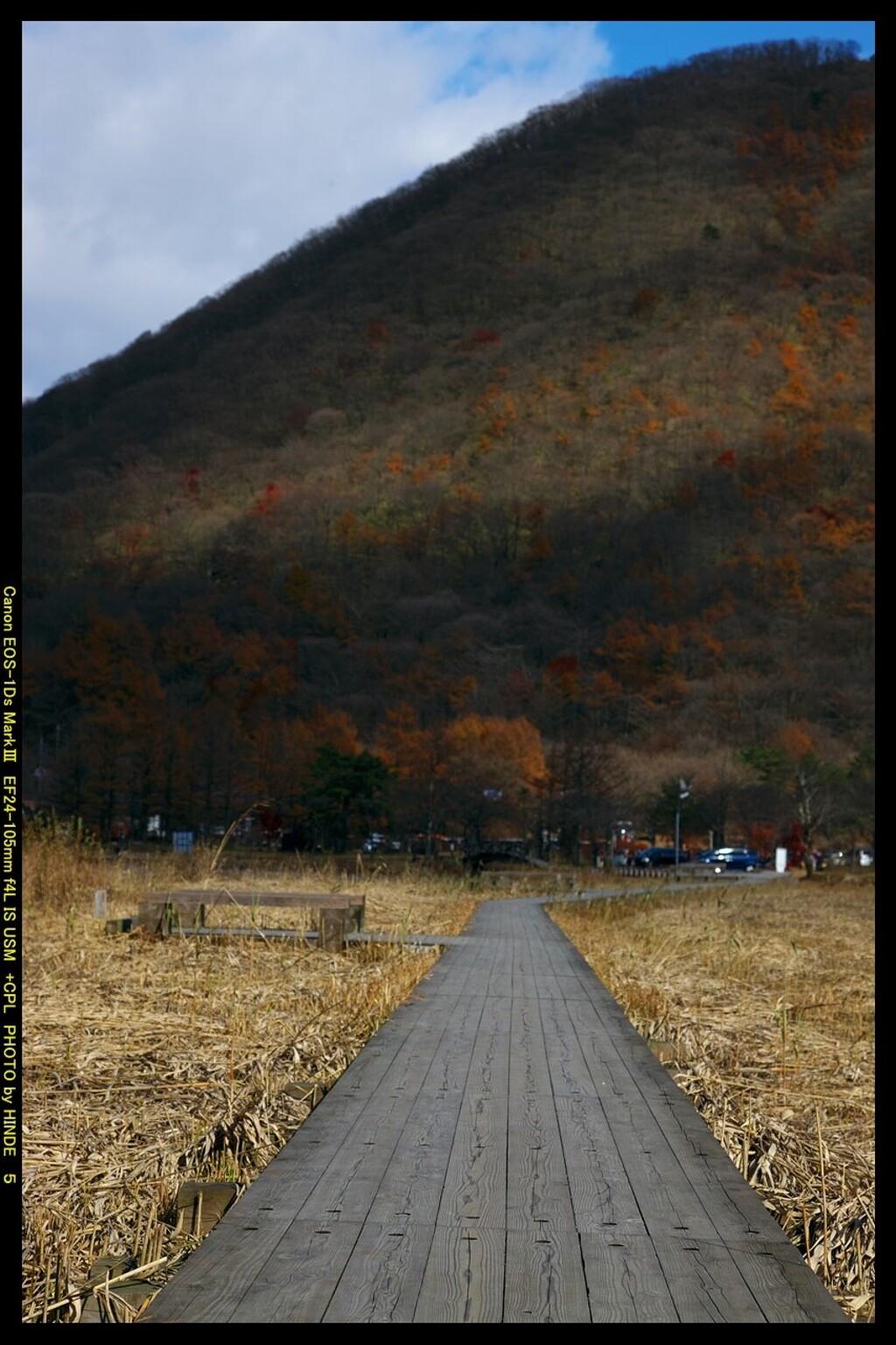 秋の榛名湖にて③