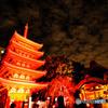 博多千年煌夜 東長寺 ライトアップ