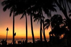 The Twilight time of Waikiki
