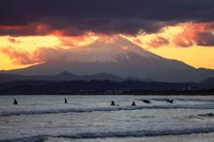 今年の〆は富士山で