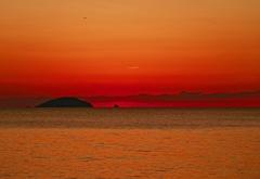 sun set gradation