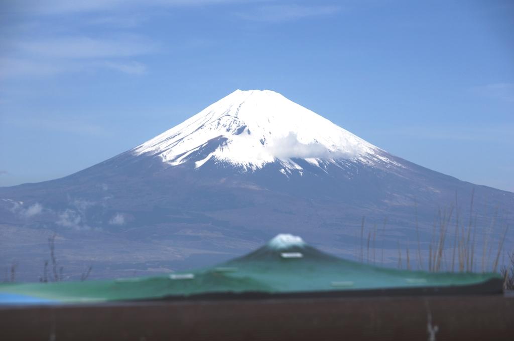 遠近富士山
