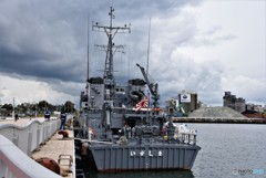 ◆掃海艇『いずしま』苫小牧入港◆
